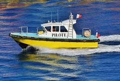 Pilot Boat in Tahiti
