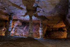 Carrière de calcaire Undergroud quarry
