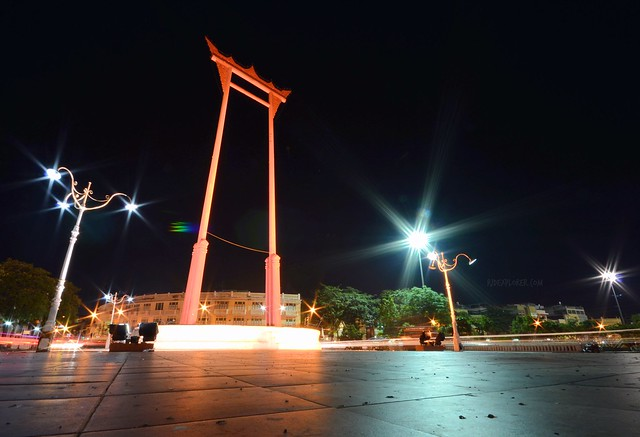 bangkok itinerary giant swing