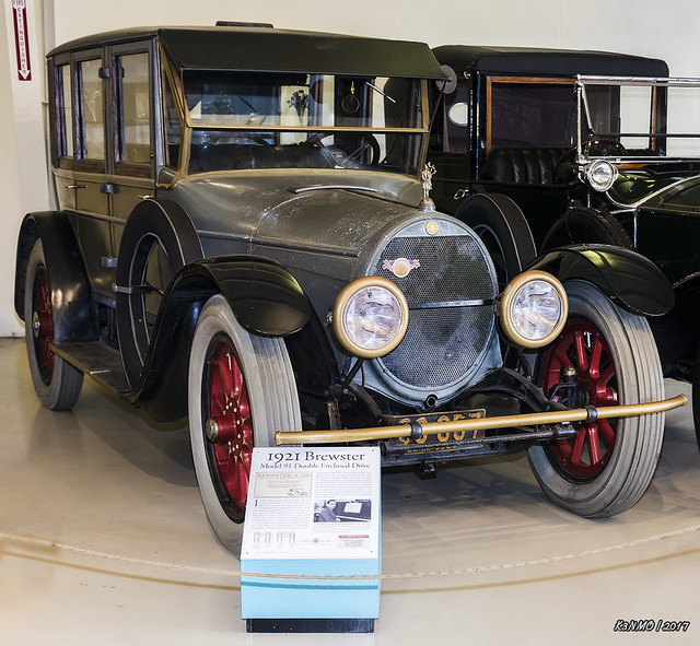 1921 Brewster Model 91 Double Enclosed Drive