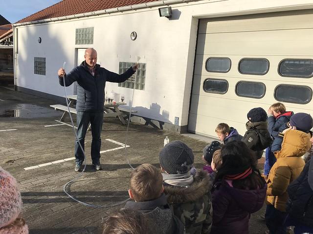 Bezoek waterbedrijf 1ste en 2de leerjaar Windekind