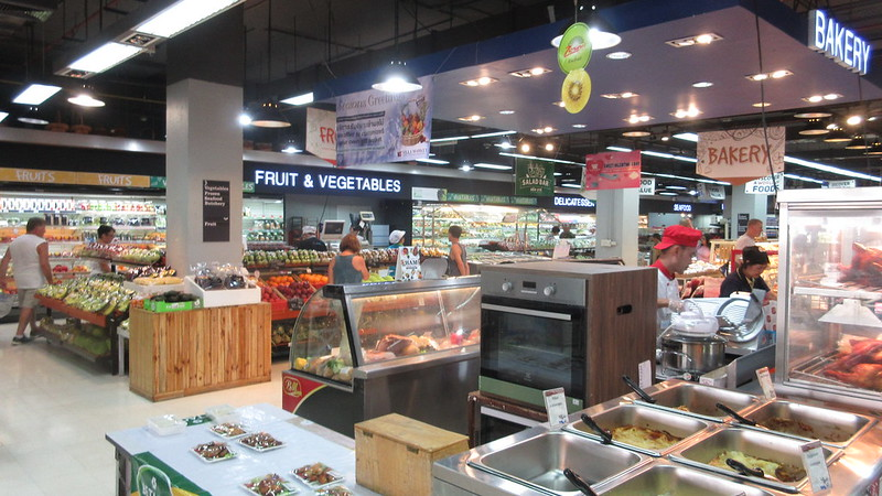 Avenue Pattaya Restaurants Supermarket