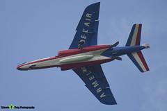 E163 9 F-TERB - E163 - Patrouille de France - French Air Force - Dassault-Dornier Alpha Jet E - RIAT 2014 Fairford - Steven Gray - IMG_1637