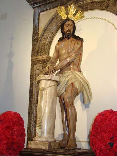 Hermandad y Cofradía de Nº Padre Jesús Atado a la Columna y Nuestra Señora del Castillo en su Misterio Doloroso