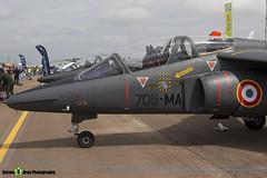 E35 705-MA - E35 - French Air Force - Dassault-Dornier Alpha Jet E - RIAT 2016 Fairford - Steven Gray - IMG_9858