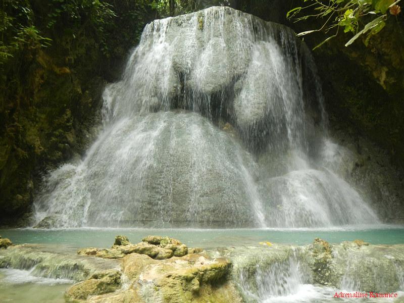 Aguinid Falls, Samboan