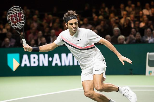 Roger Federer, Rotterdam 2018