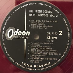 V.A.:THE FRSH SOUNDS FROM LIVERPOOL VOL.2(LABEL SIDE-B)