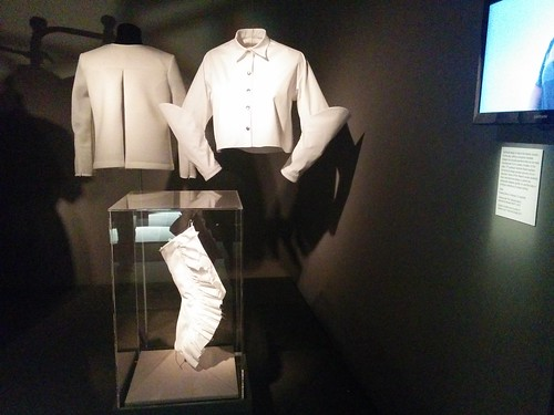 Technological garments #newyorkcity #newyork #manhattan #fashion #museumatfit #fashionandphysique #gracejun #jacket #lucyjones #shirt #latergram
