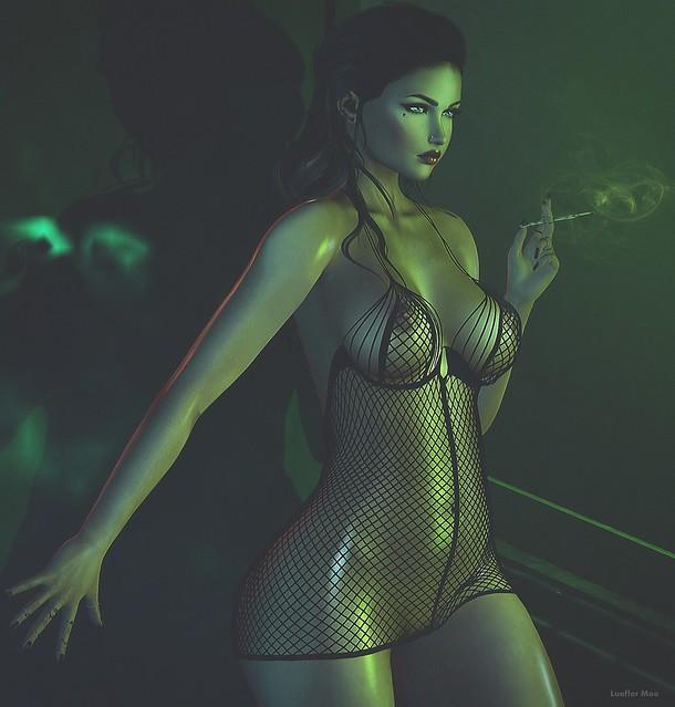 ~Hypnotized green~