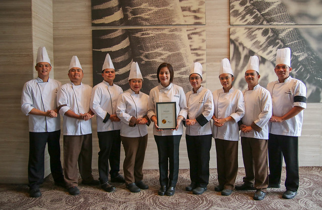 Misto Culinary Team led by Executive Sous Chef Giovanna Sibala with the T Dining by PH Tatler award