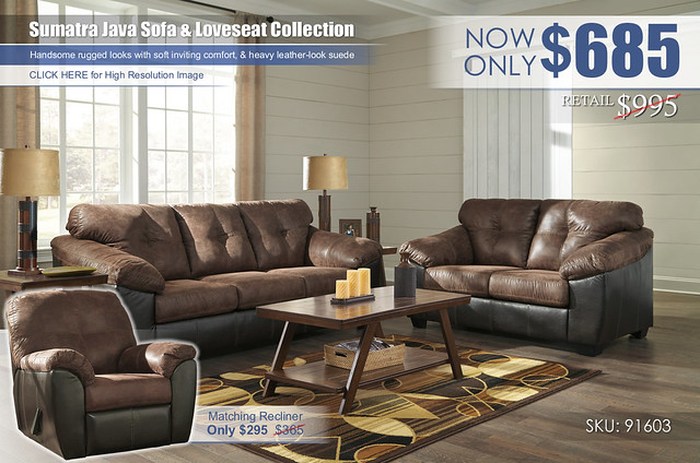 Sumatra Java Sofa & Loveseat_91603-38-35-T392