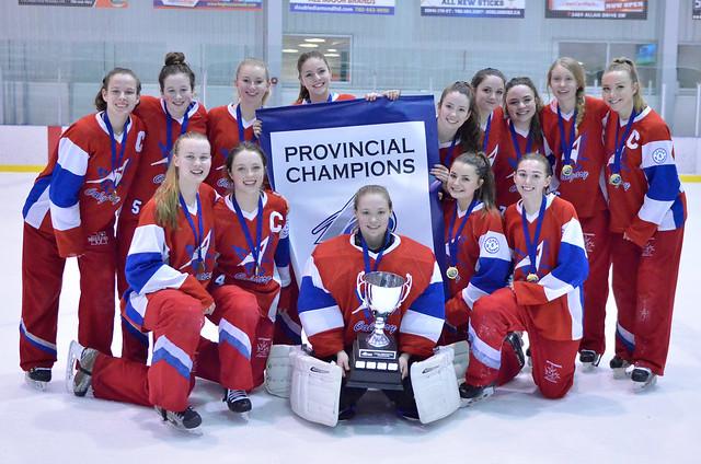 Feb 25, 2018 - Edm AA Provs - U19AA Strive wins Team Alberta (Gold)