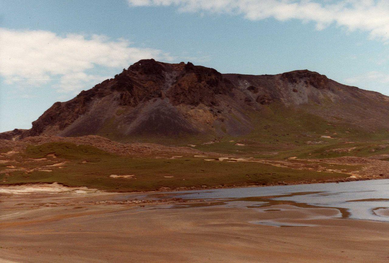 Volcan du Diable.in Kerguelen Islands