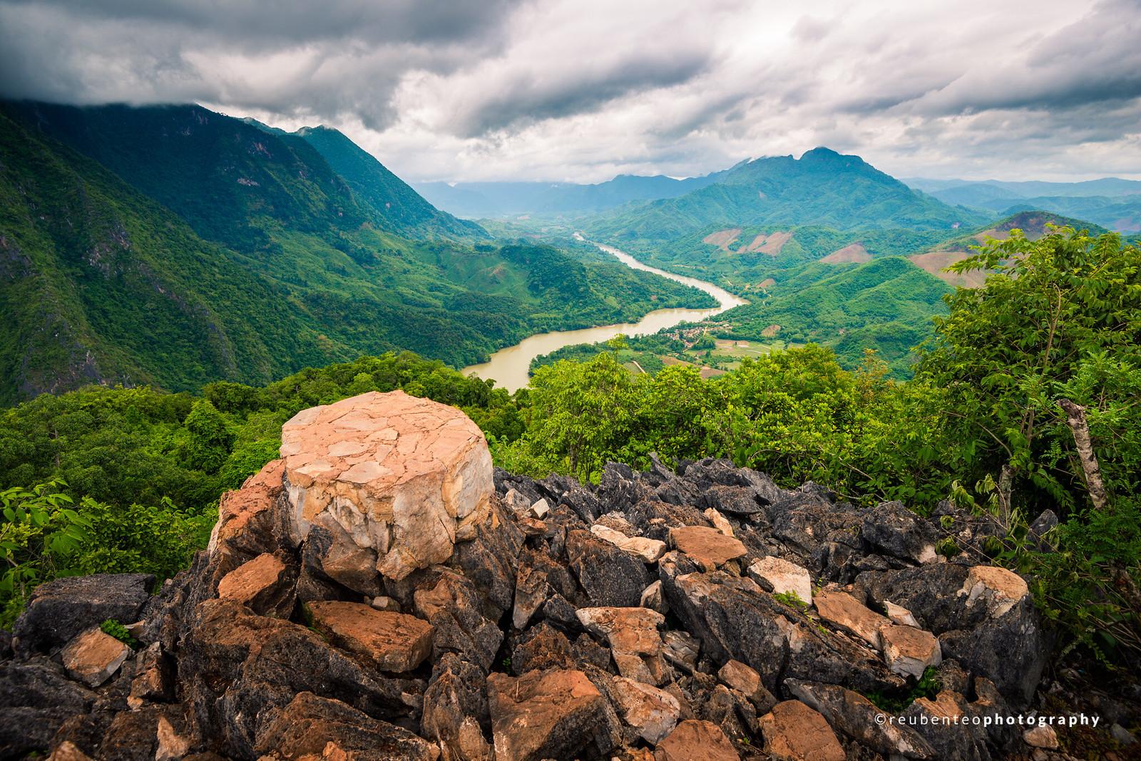 Phadeng Peak, Nong Khiaw, Laos