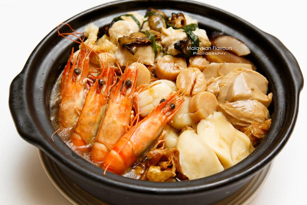 Dynasty Restaurant Renaissance KL CNY menu 2018