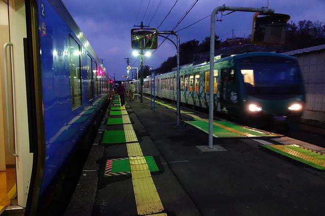 Fukaura Station (深浦駅)