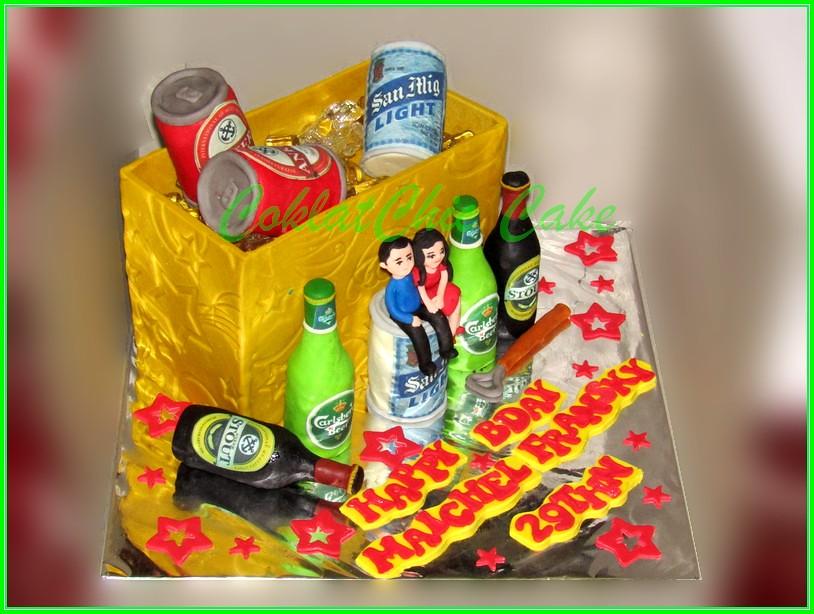Cake Beer MAICHEL 20 cm