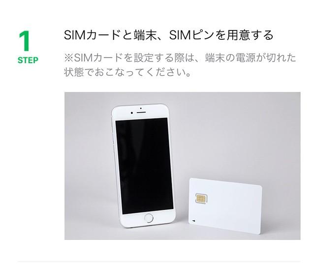 IMG_5666 格安SIM Softbank LINEモバイル LINEMOBILE MNP SIM ひめごと