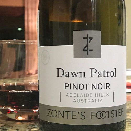 Dawn Patrol. Selected for being a pinot with that name   too many morning rides called Dawn Patrol to pass this up. Enjoyed the wine too.