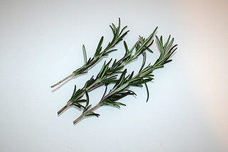 05 - Zutat Rosmarin / Ingredient rosemary
