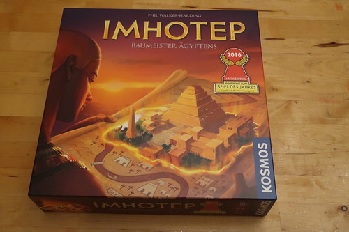 "Brettspiel ""Imhotep"""