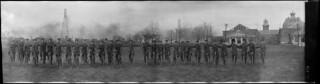 No. 9 Platoon, Cyclist Corps, Exhibition Camp, Toronto, Ontario / Peloton no 9, Corps des cyclistes, Camp d'exposition, Toronto (Ontario)