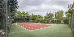 Tennis Court Panorama