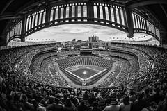 Yankee Stadium in B&W