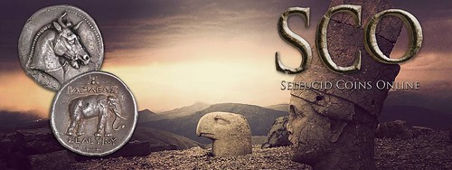 Seleucid Coins Online SCO banner