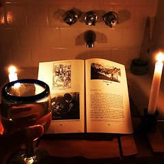 Far be it for me to lapse into the didactic, but I'm fairly certain this is the proper way to read #dracula. #phdlife, #saturdaynightplans