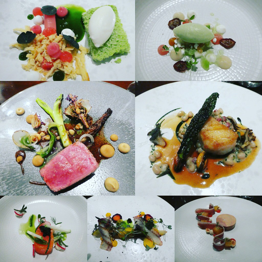 Seasonal tasting menu, Devonshire Arms Hotel and Spa, Bolton Abbey