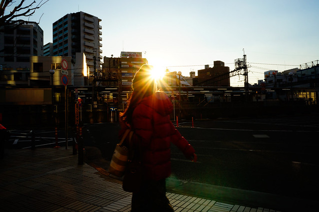 Sunset, Sony NEX-5T, E 16mm F2.8