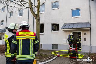 Küchenbrand Faaker Straße 12.02.18