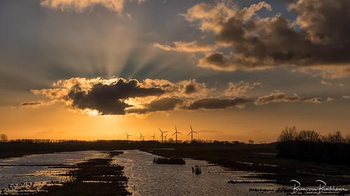 """Sunrise """"Klaasjeswater of Oude Dee"""""""