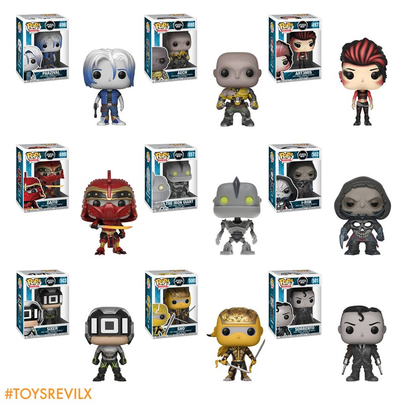 READY PLAYER ONE POP VINYL FUNKO