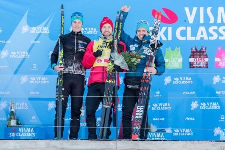 Pódium pro Bauer Ski Team na Kaiser Maximilian Laufu: Ilja Černousov dojel třetí