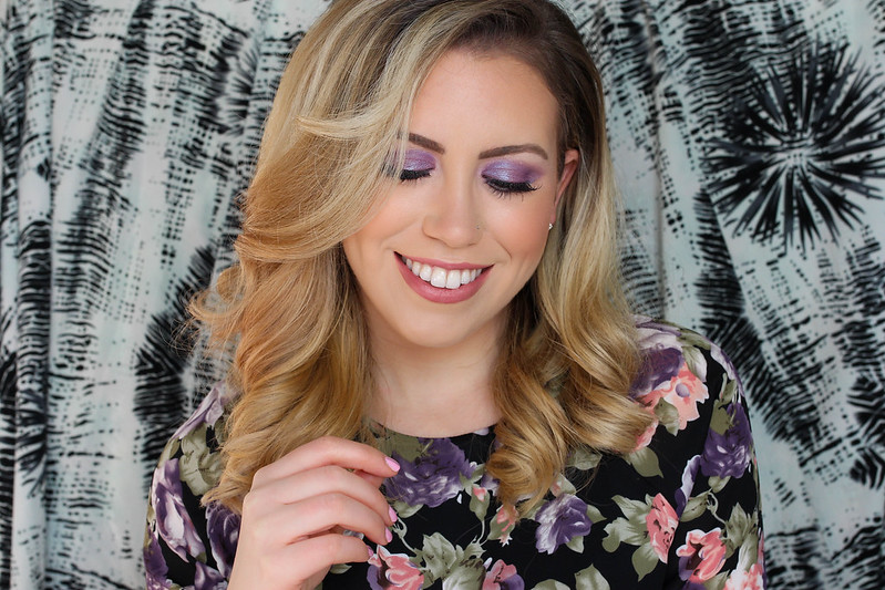 Ultra Violet Iridescent Eyeshadow Buxom Eyeshadow La La Lavish 2 Ways to Wear Ultra Violet Makeup