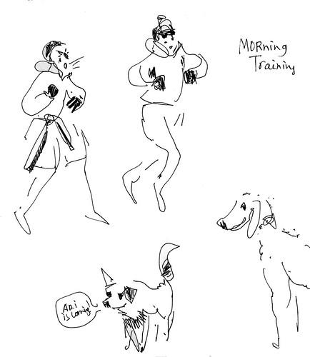 Sketchbook #111: Black Belt Training