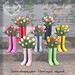 Tulip Rainboots Planter for Collabor88 February