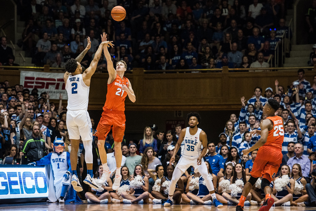 Syracuse Men S Basketball Falls To Dominant Duke Team The