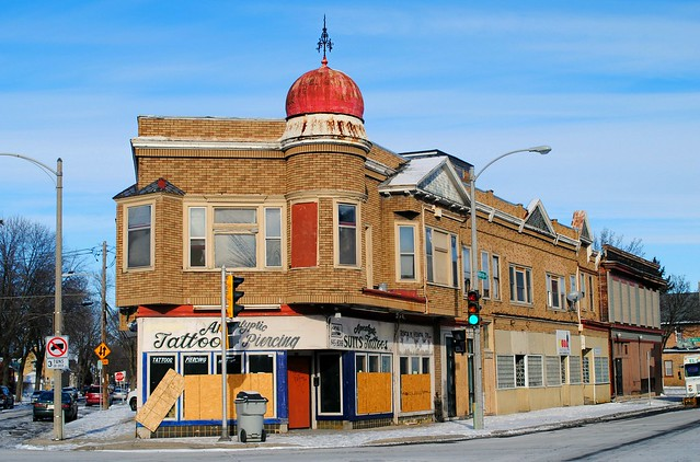 Corners of Mitchell St., 20th & S. Muskego - Milwaukee, Wisconsin