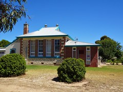 Coonalpyn. The Coonalpyn state school built in 1927. The first state school opened in Coonalpyn in 1889 after the intercolonial railway from Adelaide to Melbourne passed through here.