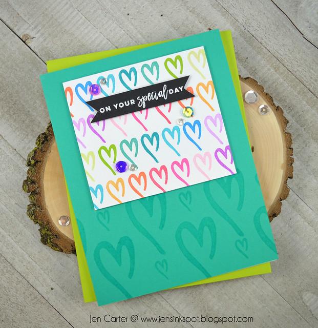 Jen Carter Winnie Walter Warm Wishes Sentimental Gift Hearts