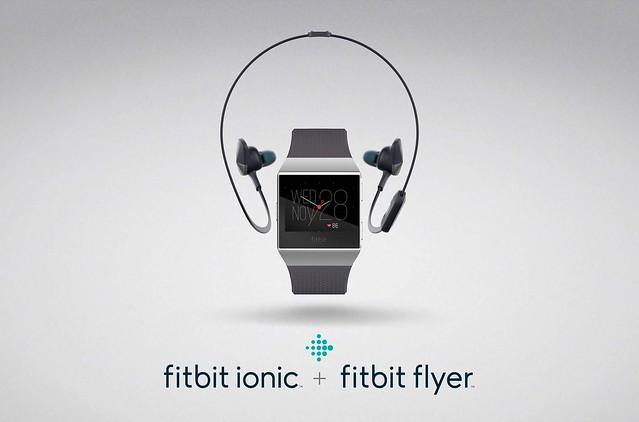 Fitbit Ionic w Flyer