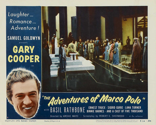 The Adventures of Marco Polo - lobbycard 2