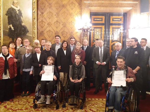 Werner-Otto-Preis im Hamburger Behindertensport 2018