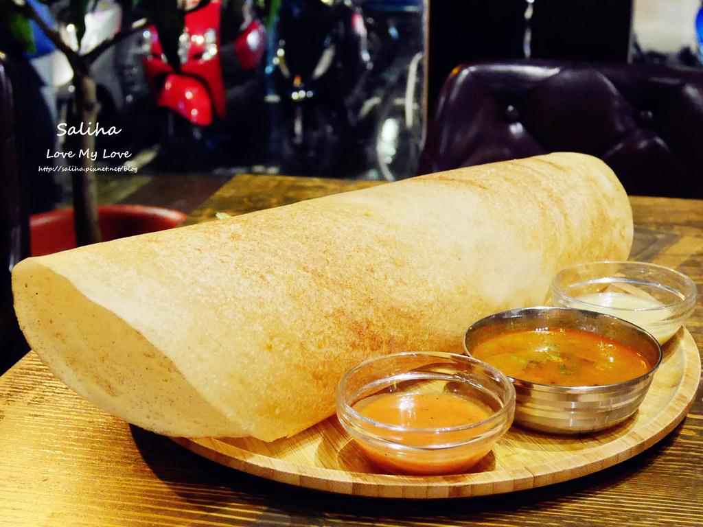 台北中山區長春路素食餐廳推薦3 Idiots Toast Curry 三個傻瓜印度蔬食南京店 (3)