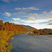 The River Tay at Dunkeld,Perthshire