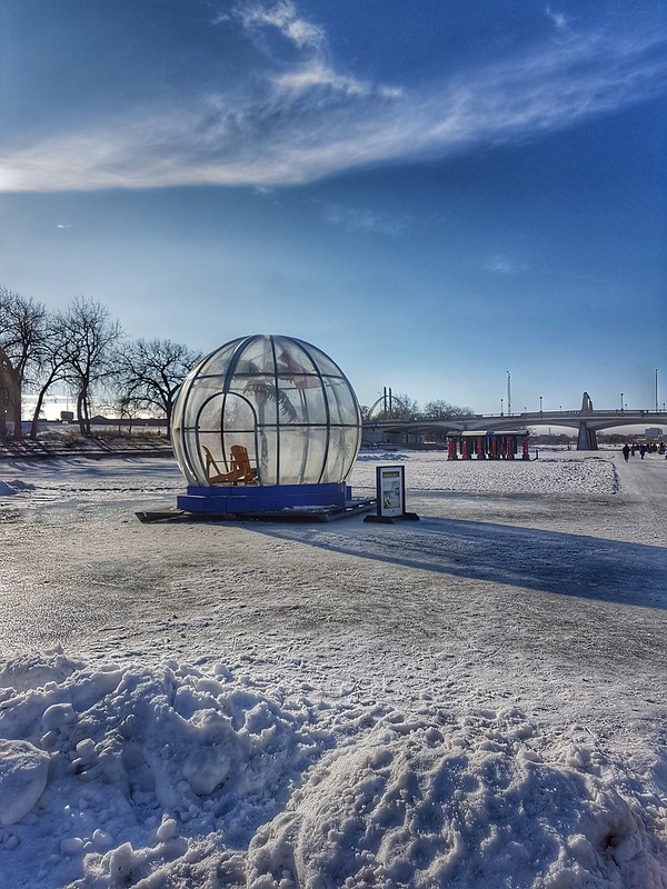 The Forks Winter Tropical Warming Hut